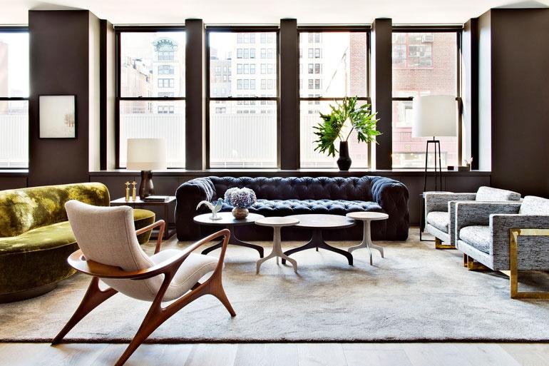 nyc interior designers TOP 20 NYC Interior Designers Shamir Shah Design 2